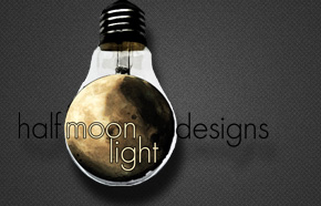 Client: Half Moon Light Designs - Project: Motion Graphics; Logo Reveal