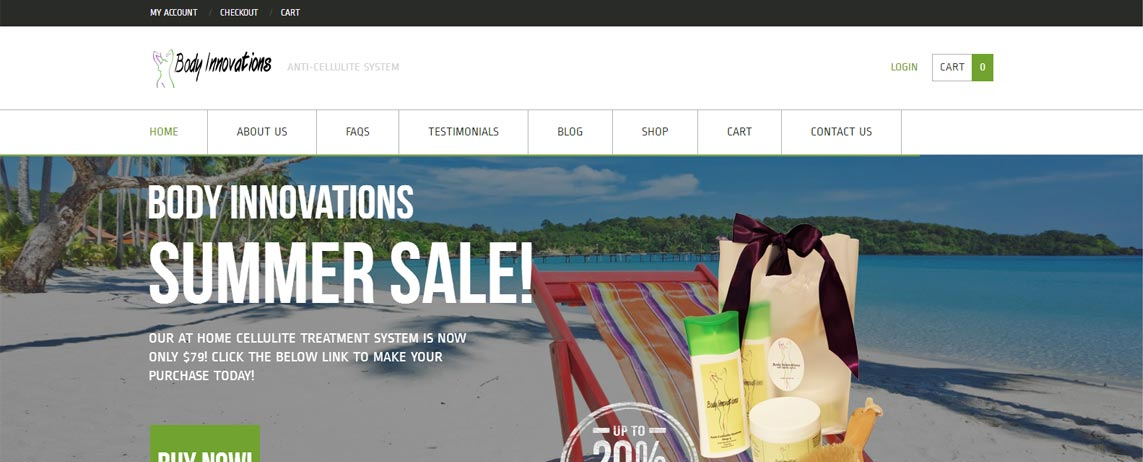 Body Innovations - e-Commerce Website Launch Successful